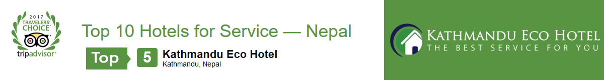 Best Hotels for Service in Nepal - TripAdvisor Travelers' Choice Awards 2017