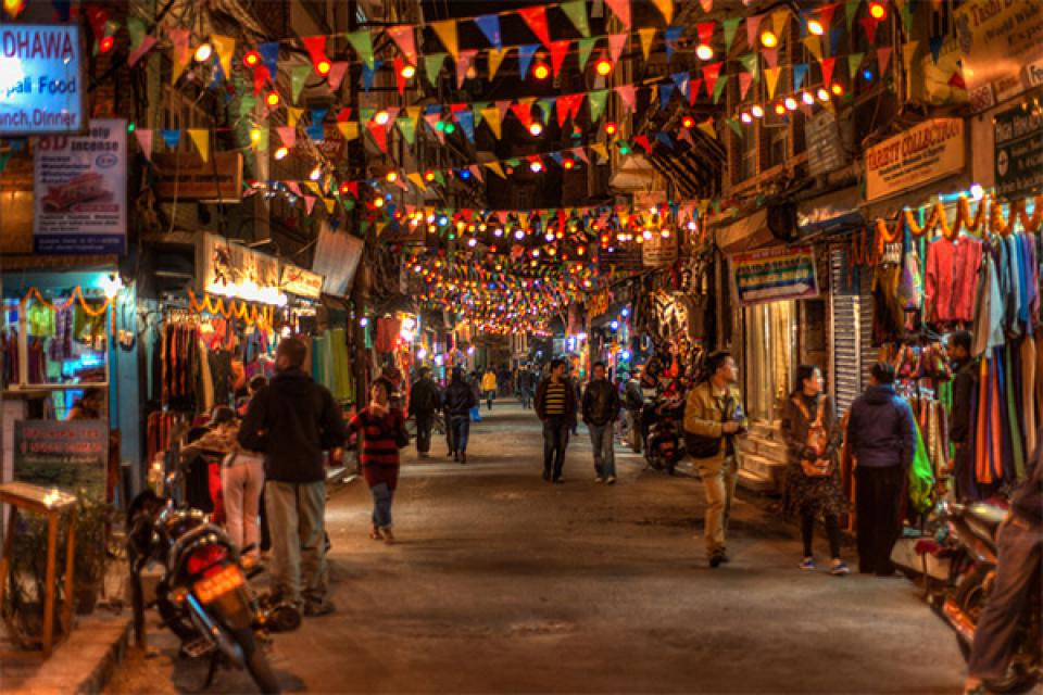 Thamel is the tourist place of Kathmandu