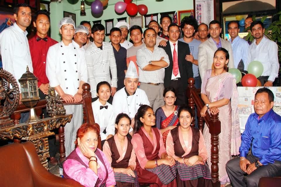 Kathmandu Eco Hotel crew