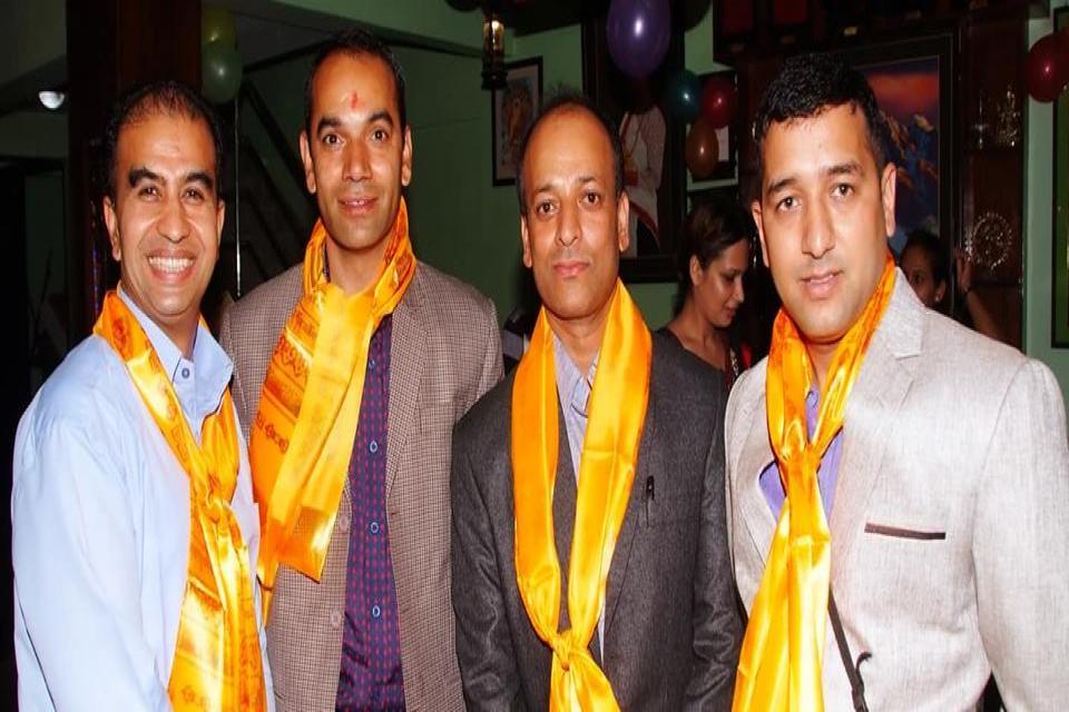 Management team of Kathmandu Eco Hotel
