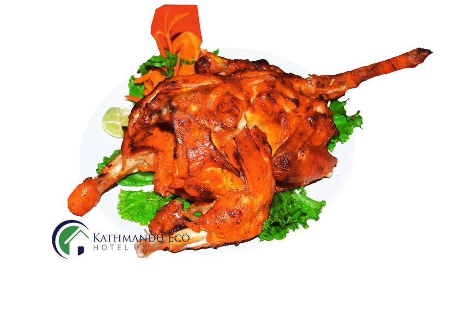 Kathmandu Eco Hotel chicken tandoori