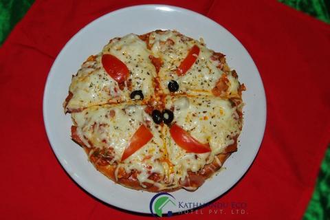 Kathmandu Eco Hotel Pizza