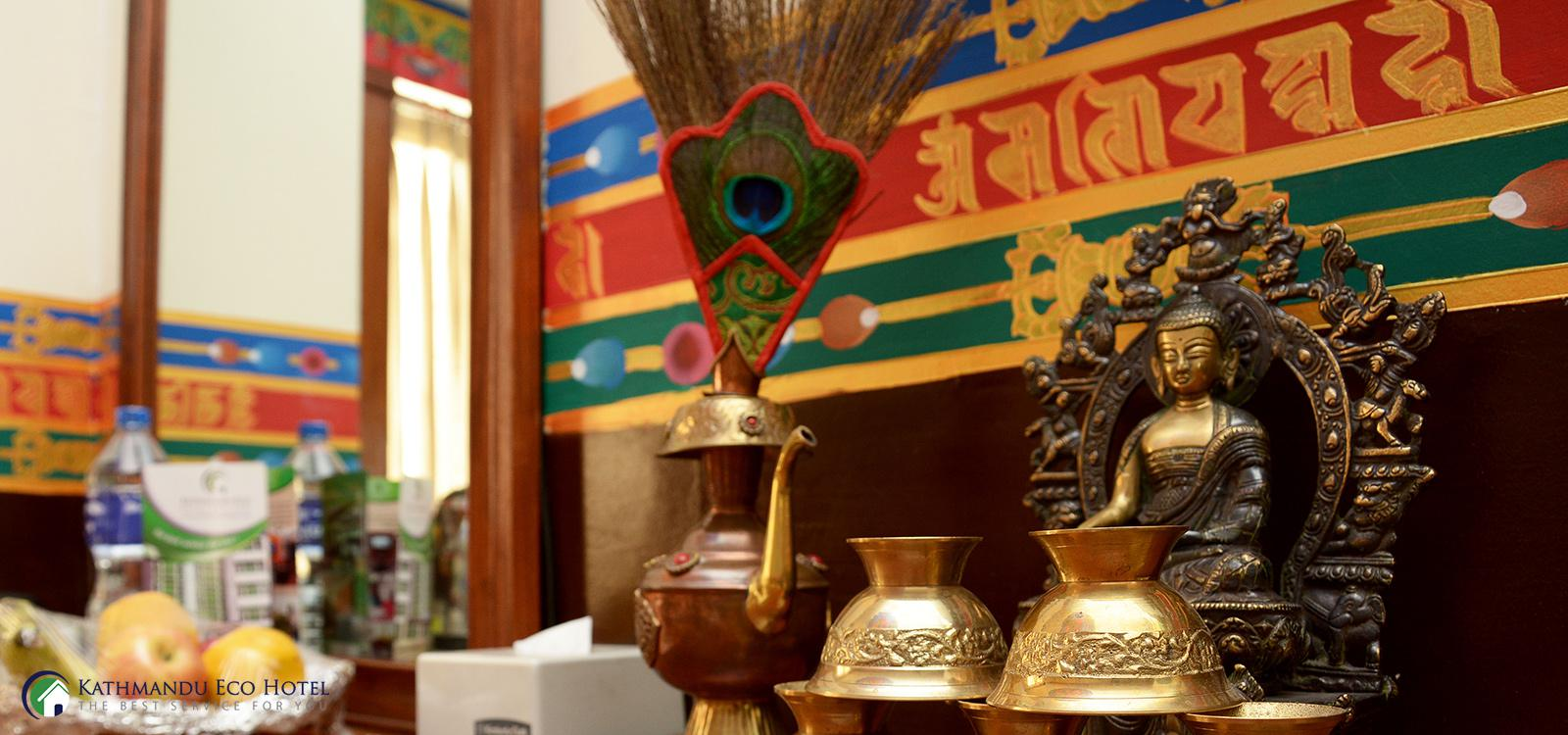 It's a pleasure to welcome you all to the Kathmandu Eco Hotel.